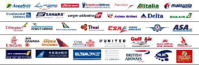 Airline Carrier Logos